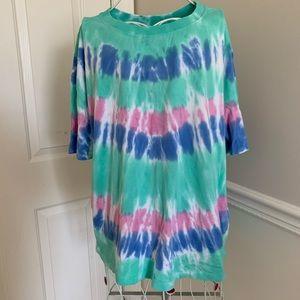 zara | pastel tye dye t shirt